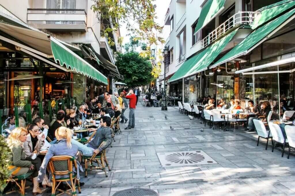 שכונות באתונה